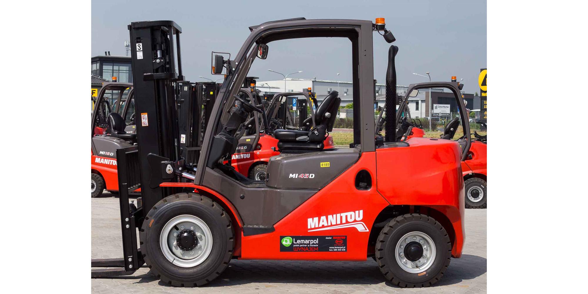 Wózek widłowy Manitou MI 45G